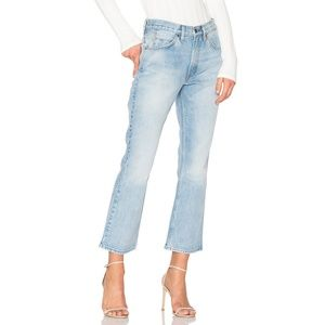 NWT Levi's 517 Cropped Jeans in Kerouac Effect